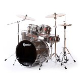 PREMIER Birch Shell Drum Kit APK Series [KIT 1] - Black Lacquer - Drum Kit